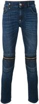 Philipp Plein zipped knee skinny jeans