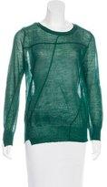 A.L.C. Sheer Wool Sweater