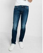 Express slim leg slim fit medium wash flex stretch jeans