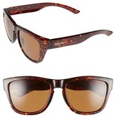 Smith Optics Women's 'Clark' 54Mm Polarized Sunglasses - Havana/ Polarized Brown