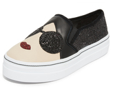 Alice + Olivia Stace Sofia Slip On Sneakers