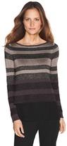 White House Black Market Woven Mix Pullover