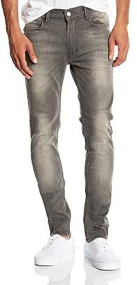 Religion Men's Noize Skinny Fit Jeans, Grey (Washed Raven)