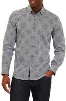 Robert Graham Men's Conan Regular Fit Print Sport Shirt