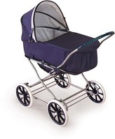 The Well Appointed House English Style 3-in-1 Doll Pram, Carrier, & Stroller