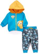 Children's Apparel Network Blue Finding Nemo Knit Hoodie & Pants - Infant