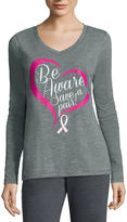Made For Life Made for Life Long-Sleeve Breast Cancer Tee