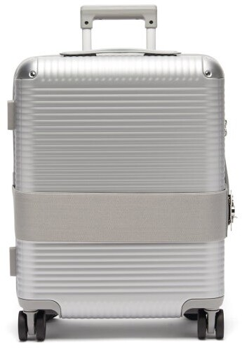FPM Milano Bank Spinner 55 Cabin Suitcase - Silver