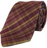 Nigel Lincoln Woven Plaid Tie
