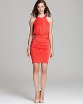 Cynthia Steffe Dress - Mariah High Neck Shirred Skirt
