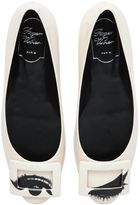 Roger Vivier 10mm Gommette Eyes Patent Leather Flats