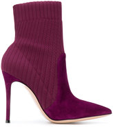 Gianvito Rossi knitted ankle sock boots