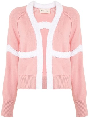 PortsPURE Knitted Applique Cardigan