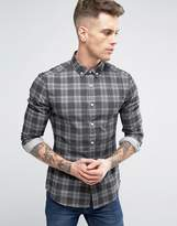 Asos Skinny Denim Check Shirt