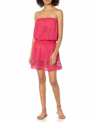 Ramy Brook Women's Lilia Embroidered Mini Dress