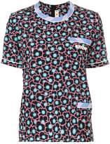 Marni floral print boxy T-shirt