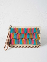 White Stuff Laurie tassel clutch