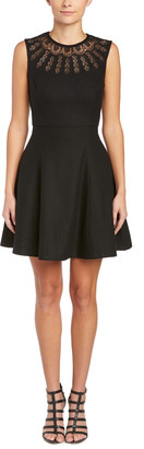 Susana Monaco Mia Wool-Blend A-Line Dress