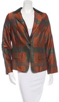 Etro Brocade Notched Lapel Blazer