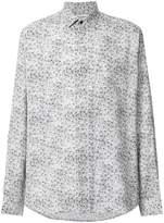 Saint Laurent oversized printed shirt