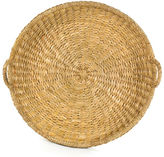 One Kings Lane Sweater-Weave Round Trays, Natural