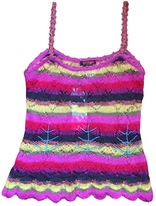 Christian Lacroix Pink Wool Knitwear for Women Vintage