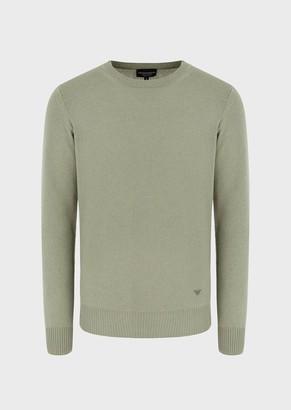 Emporio Armani Pure Cashmere Crew Neck Sweater