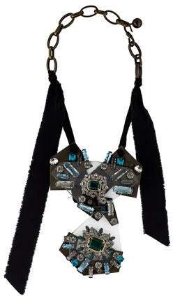 Lanvin Crystal Statement Necklace