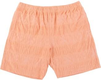 Supreme Logo Striped Shorts