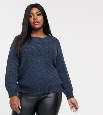 Junarose textured jumper