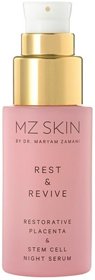 MZ SKIN Rest & Revive Restorative Placenta & Stem Cell Night Serum 30ml