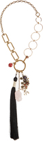 Etro Bead and tassel-embellished necklace