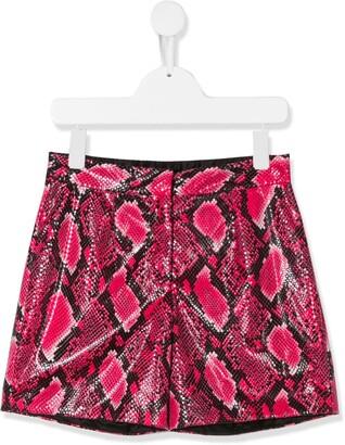 Dolce & Gabbana Kids Snake-Effect Shorts