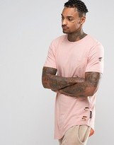 Criminal Damage T-Shirt With Distressing