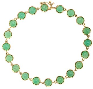 Irene Neuwirth 18kt Yellow Gold Chrysoprase Bracelet