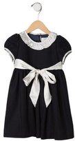 Baby CZ Girls' Wool-Blend Ruffled Dress w/ Tags