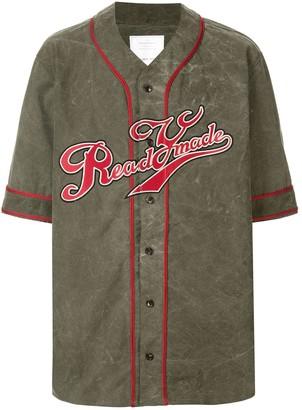 Readymade Stitch Detail Baseball Shirt