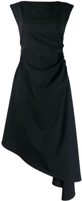MM6 MAISON MARGIELA Asymmetric Pinstripe Dress