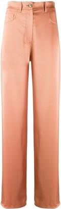 Nanushka Drew straight leg trousers