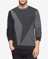 Calvin Klein Men's Colorblocked Fleece Sweatshirt