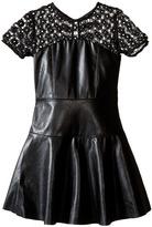 Ella Moss Mckenzie Faux Leather Dress (Big Kids)