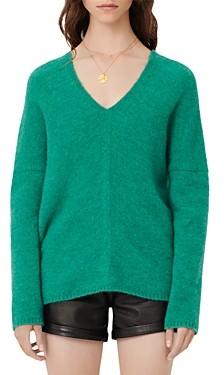 Maje Madison V Neck Sweater