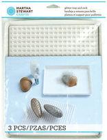 Martha Stewart Glitter Tray & Rack-10x8