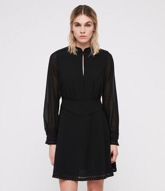 AllSaints Kay Stud Dress