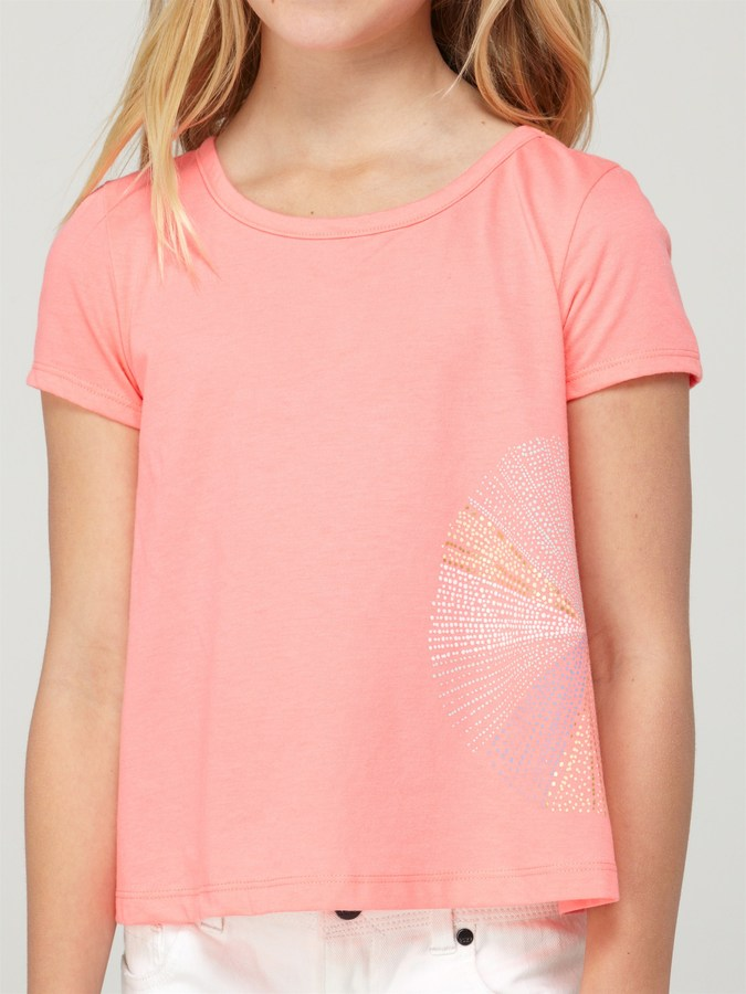 Roxy Girls 7-14 Spray Time Crop Tee