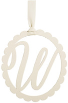 Mud Pie Scalloped Initial Wall Hanger - W