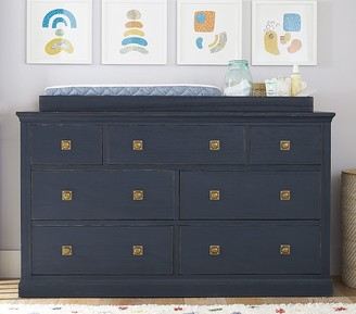 Pottery Barn Kids Charlie Extra Wide Dresser & Topper Set