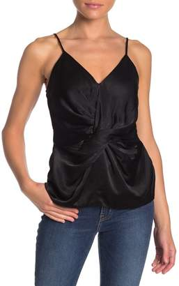 Do & Be Do + Be Satin Knot Front Tank