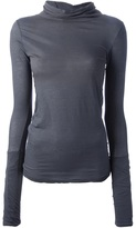 Humanoid high neck T-shirt