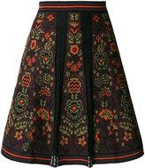 M Missoni floral A-line skirt